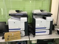 HP CM3530 更換轉寫單元