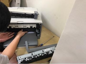HP LJ-5200 更換加熱器