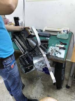 HP DJ-130 繪圖機皮帶斷裂維修