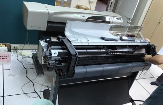 HP DJ-510 更換皮帶