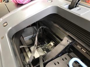 HP Z2100 更換皮帶