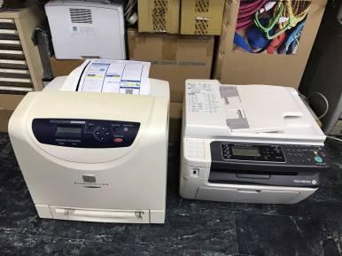 Fuji Xerox M205f 取紙模組故障