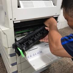 SHARP AR-266 加熱器故障