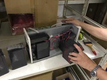 飛瑞C-1000&C-3000更換電池