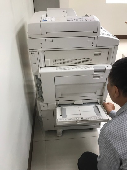 FUJI C2260 手送進紙器更換