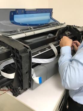 HP DJ-500 更換光學尺