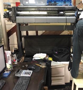 HP DJ-500 更換皮帶組
