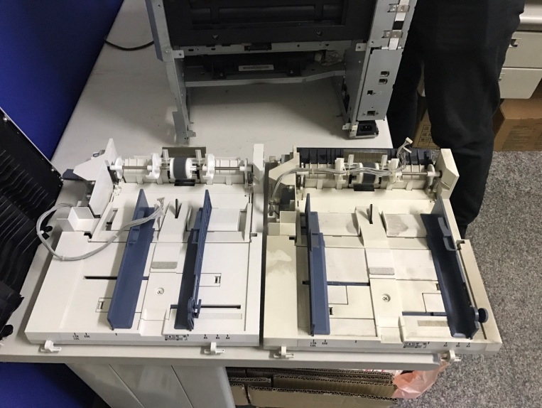 EPSON C1100 更換進紙組