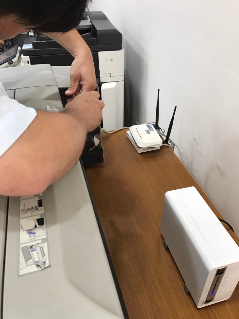 泓統資訊-HP DJ-500繪圖機更換送紙座