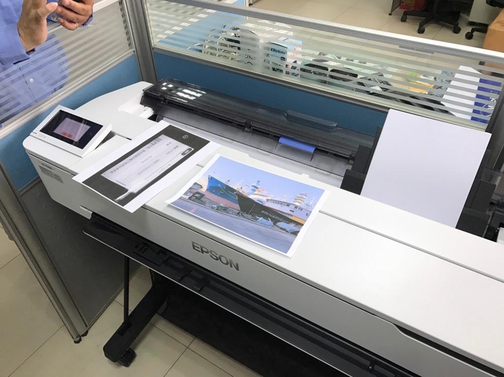 泓統資訊-EPSON SureColor SC-T5130 繪圖機安裝