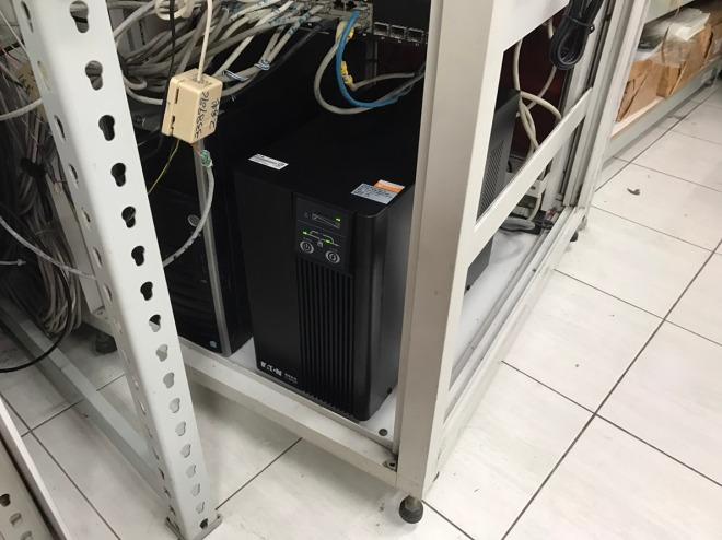 泓統資訊-伊頓飛瑞C-3000F 3KVA On-Line在線式UPS不斷電系統安裝